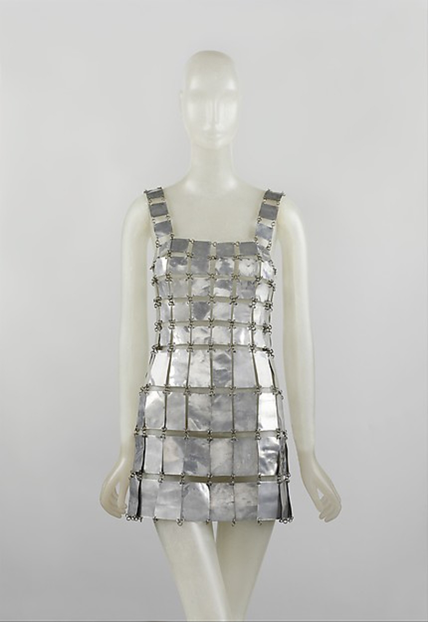 ANEXO3_Paco Rabanne vestido metalico